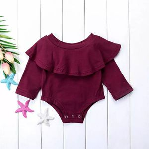 Burgundy ruffle long sleeve for Sale in Montebello, CA