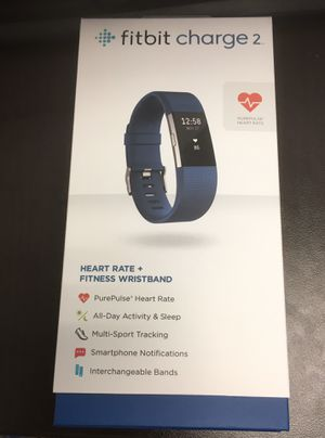 Fitbit Charge 2 plus two extra bands for Sale in Baltimore, MD