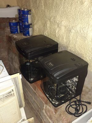 2 oceanic bio cubes. 8 gallon and 14 gallon for Sale in Delavan, IL