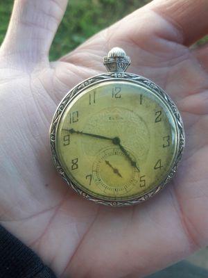 1928 Elgin pocket watch for Sale in Seattle, WA