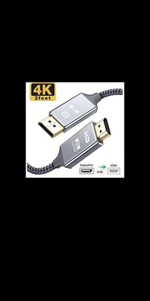 New Capshi DisplayPort to HDMI Cable, 3 ft for Sale in Corona, CA