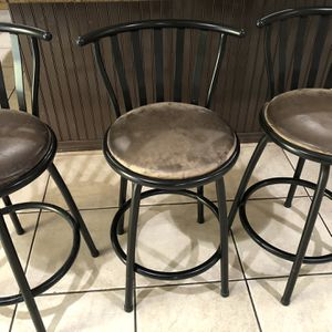 Set Of 6 Swivel Barstools for Sale in West Covina, CA