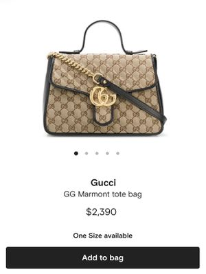 Gucci Marmont Tote Purse for Sale in Scottsdale, AZ