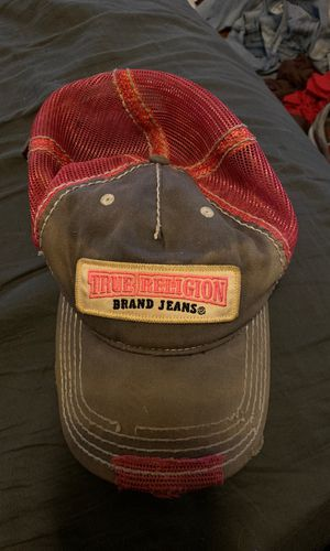 Pink & Gray True religion hat for Sale in Baltimore, MD