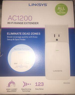 Linksys AC1200 Wifi Range Extender for Sale in Jacksonville, FL