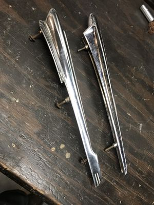 Original oem part CHROME CHEVY HOOD ORNAMENT 1947 to 1950 GMC 1949 Chevrolet and 1948 gmc custom for Sale in Ontario, CA