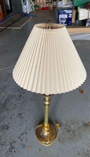 Brass lamp for Sale in Evansville, IN