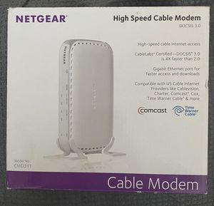 netgear high speed modem for Sale in Long Beach, CA
