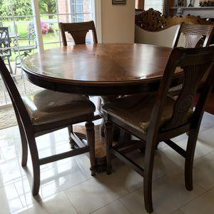 Wooden Breakfast Table for Sale in Utica, MI