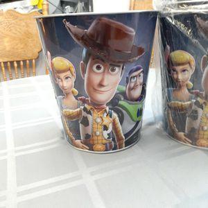 Toy Story Centerpieces Bucket, Popcorn Bucket for Sale in El Monte, CA