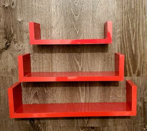 Red floating shelves for Sale in Los Angeles, CA
