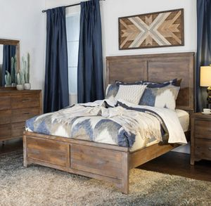 Queen Bed Frame & Head Board for Sale in San Diego, CA