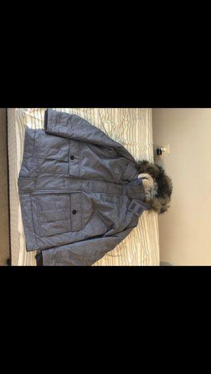 Hollister Grey Parka Jacket Size Large (L) for Sale in Falls Church, VA