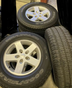 Jeep Tires and Wheels for Sale in Winchester, CA