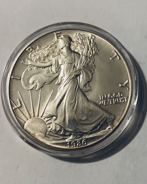 1986 First Release - 1oz American Silver Eagle - WOW - Key Date - Collectibles for Sale in Homosassa Springs, FL