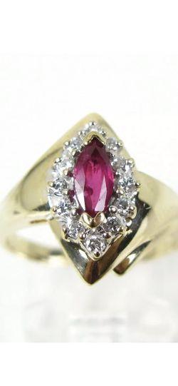 Ruby Diamond 14Kt Gold Ring for Sale in Miami,  FL