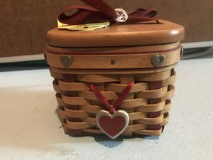Longaberger Small Sweetest Gift Basket for Sale in Canton, MI