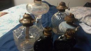 Set of Oil Burning Lanterns for Sale in Coffeyville, KS