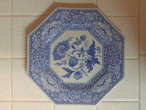 Spode plate, Floral Blue Room, Sutherland for Sale in Oceanside, CA