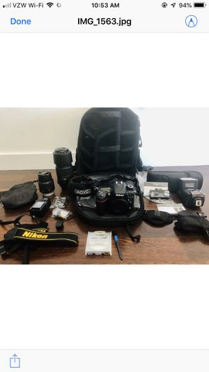 NIKON D7100 DLS CAMERA BUNDLE for Sale in Santa Ana, CA