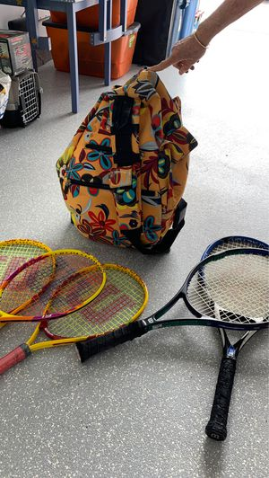 Rackets and Bag for Sale in San Clemente, CA