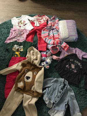 Clothes for 2 year old girl. for Sale in San Jose, CA
