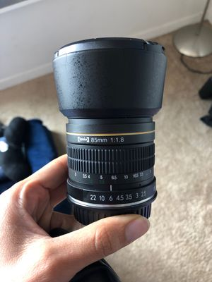 3 Canon & Optek Lenses - $150 for Sale in Los Angeles, CA