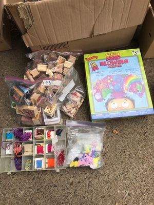 Arts and crafts/science kit lot for Sale in Portland, OR