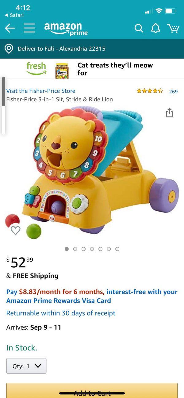 Kids toys: Walker and Rocker