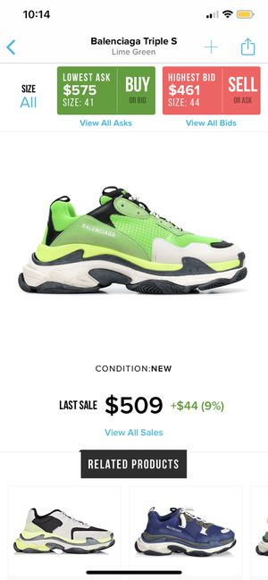 Balenciaga Triple S Size 44 for Sale in White Plains, MD