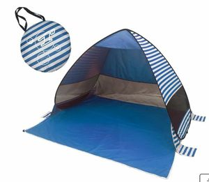Portable Automatic Pop Up Camping Tent, Blue Stripe $14 FIRM for Sale in Redlands, CA