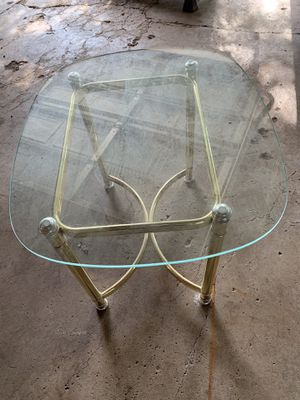 Glass table for Sale in Bloomington, MN