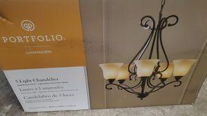 New in box chandelier light fixture for Sale in Vancouver, WA