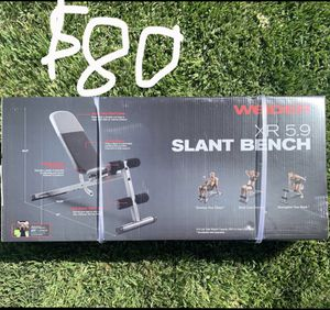 Weider XR 5.9 Slant Workout Weight Bench (Adjustable to 6 different positions) for Sale in Corona, CA