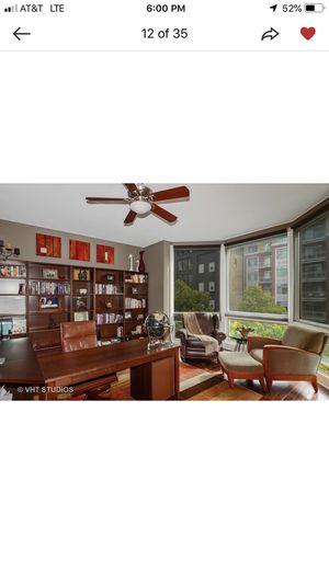 Dania office furniture - desk, book cases, file cabinets for Sale in Chicago, IL