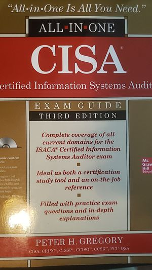 CISA Exam Guide 3rd Edition for Sale in North Chesterfield, VA