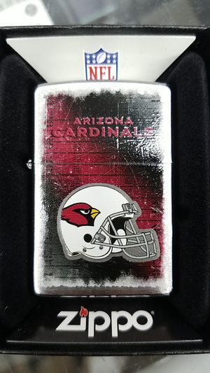 Zippo NFL cardinals brushed chrome 28202 for Sale in Los Angeles, CA