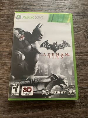 Xbox 360 Batman Arkham Citi game for Sale in Round Lake, IL