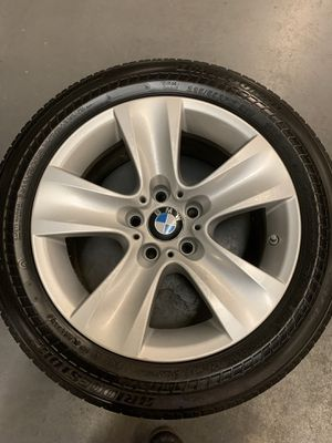 """17"""" factory BMW rims WITH tires for Sale in Wichita, KS"""