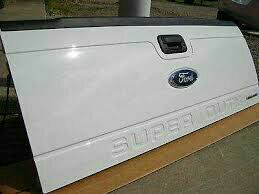 99-15 Oxford white superduty tailgate for Sale in Houston, TX