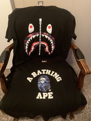 Bape Shirts for Sale in Taylor, MI