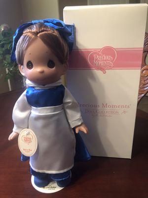 "Disney BELLE in BLUE DRESS Precious Moments 12"" Doll for Sale in Gilbert, AZ"
