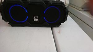 Altec Lansing waterproof all color changing set to move to the beat of the music. Also top wireless charges your smart phone for Sale in Phoenix, AZ