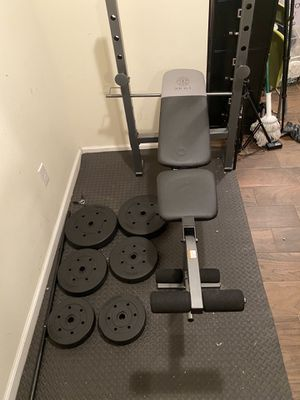 Bench Press and Free Weights for Sale in North Bergen, NJ