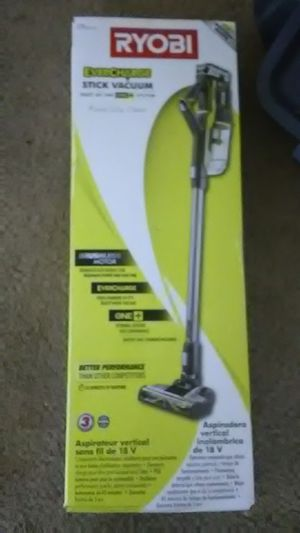 RYOBI evercharge stick vacuum for Sale in South San Francisco, CA