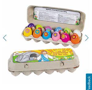 NIB Resurrection eggs Easter kit for Sale in Centreville, VA