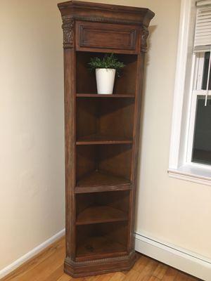 Corner book shelf for Sale in Queens, NY
