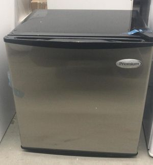 1.6 cu. ft. Mini Refrigerator in Black with Stainless Steel Door for Sale in Houston, TX