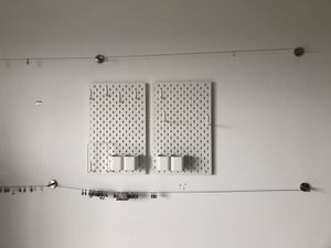 2 Art peg board and 2 wire mount with tons of hooks for Sale in Lauderhill, FL