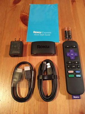 BRAND NEW!! Roku Express Streaming Device for Sale in Seattle, WA
